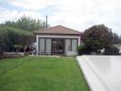 Pool house rear side