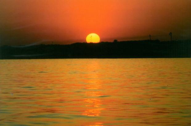 Sunset in Pernera
