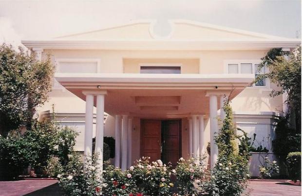 Villa front side