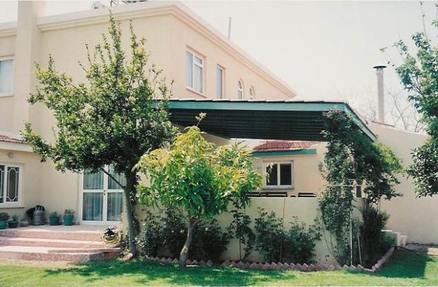 Villa rear side