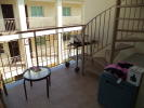 Balcony and stairs t