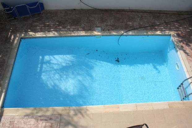 Pool from the Bedroo