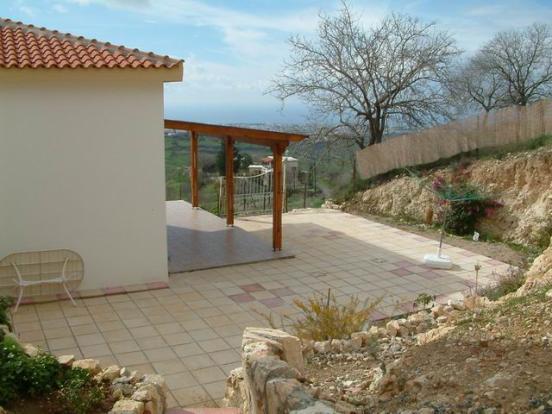 Kitchen veranda and