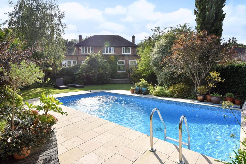 Pool and Rear Elevat