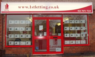 1st Sales and Lettings, Coventry - Lettingsbranch details