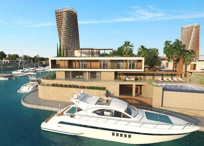 4 bed Detached house for sale in Ayia Napa Marina...