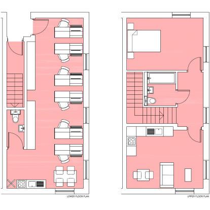 Live/Work floor plan