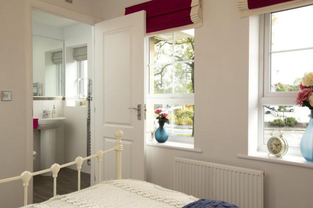 Typical Morpeth en suite to master bedroom