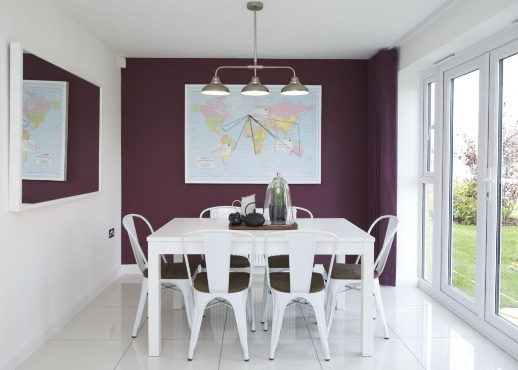 Typical Colchester dining area