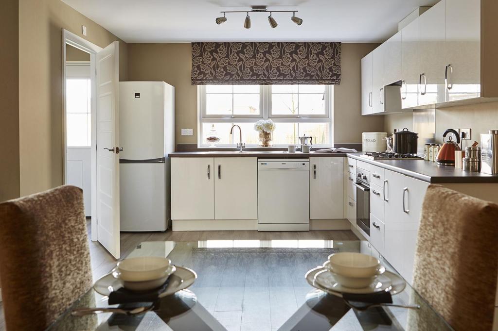 Typical Thornbury fitted kitchen