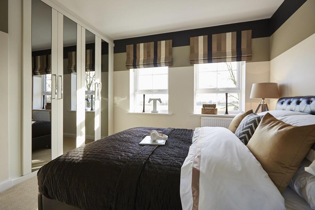 Typical Thornbury third bedroom