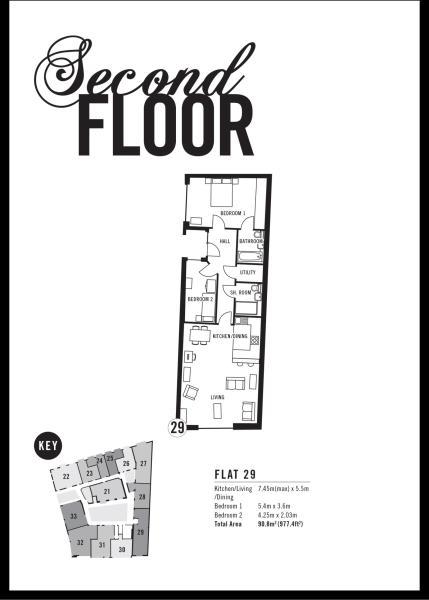floorplan flat 29