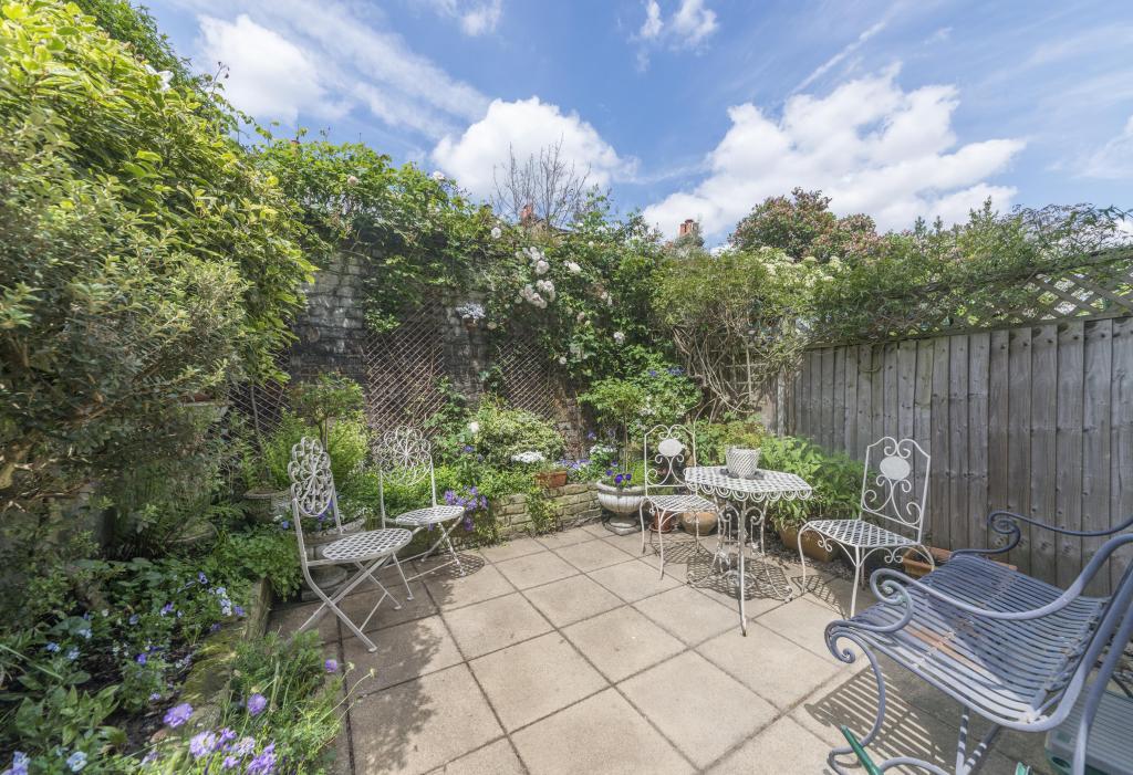 Private garden space