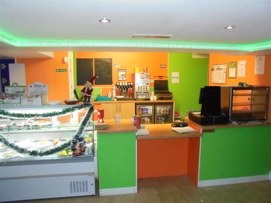 Cafe Serving Area