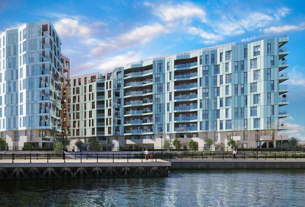 Enderby Wharf CGI
