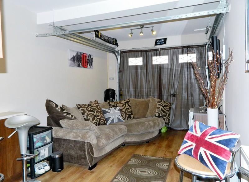 Garage/TV Room