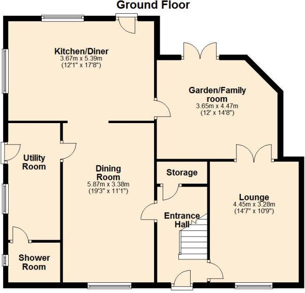 Floor Plan - Ground