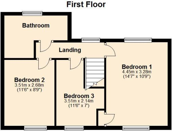 Floor Plan - First F
