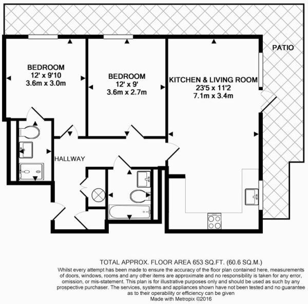 Floor Plan - Ground Floor Apartment