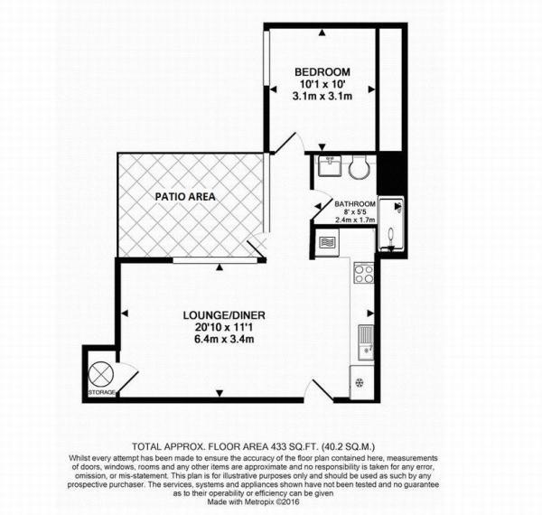 Floor Plan (Ground Floor of Sugar House)