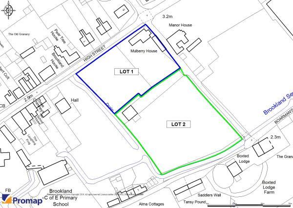 Plan of Lots 1 & 2