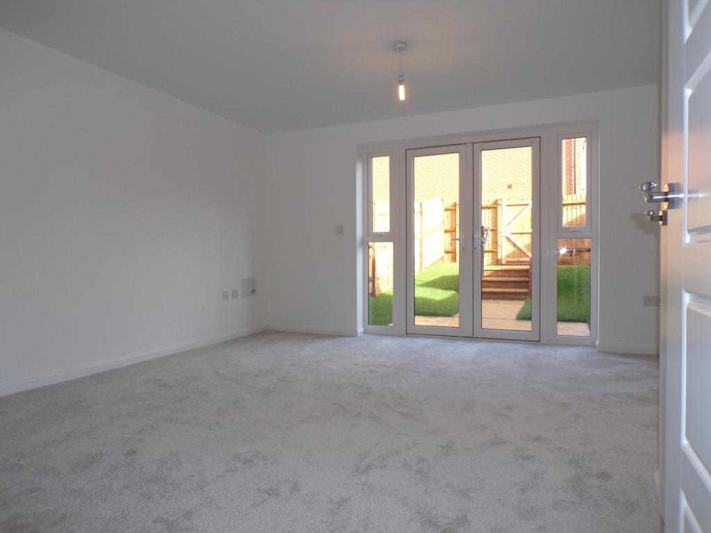 The Barwick living/dining room
