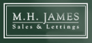 M.H. James, Haslemere logo