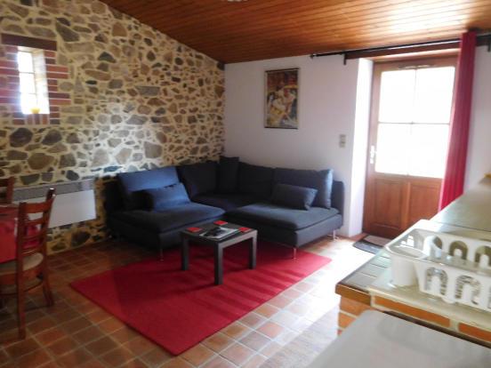 Gite Lounge/kitchen