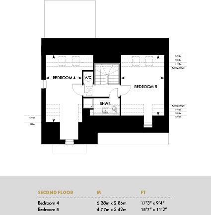 The Ledbury, Second Floor