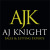 AJ Knight property services Ltd, Hayling island logo