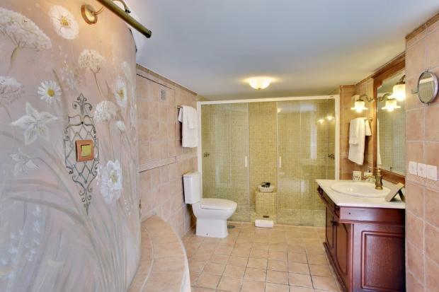 Room 1 bathroom.