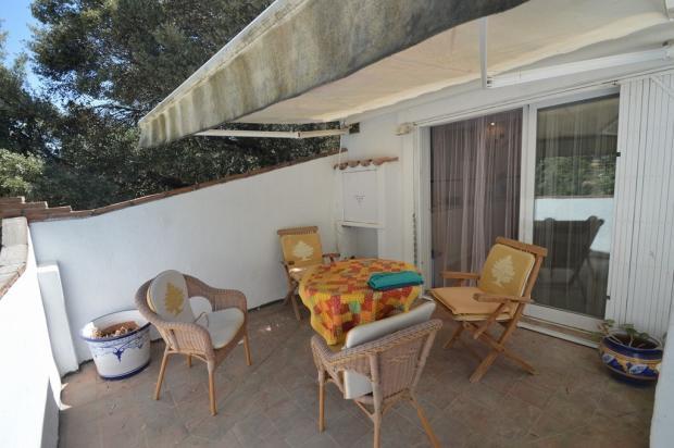 Studio. Main terrace