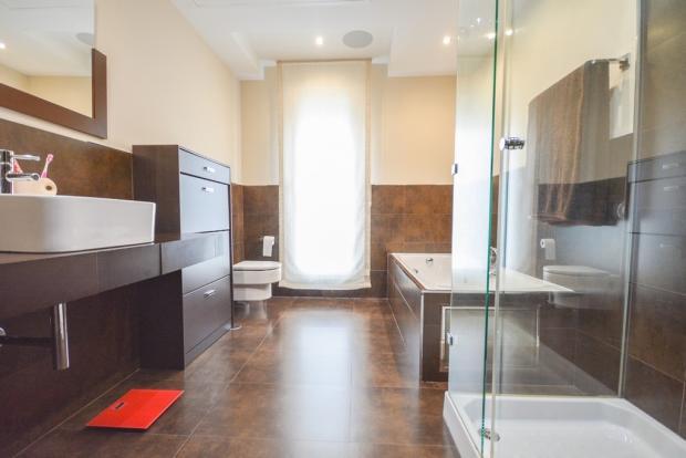 on suite bathrom