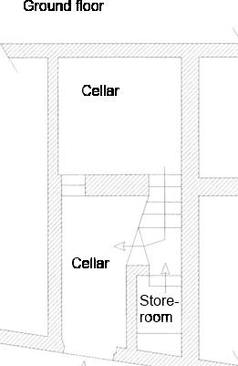 Groundfloor cellars
