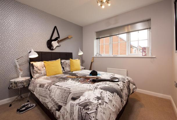 Guisborough double bedroom