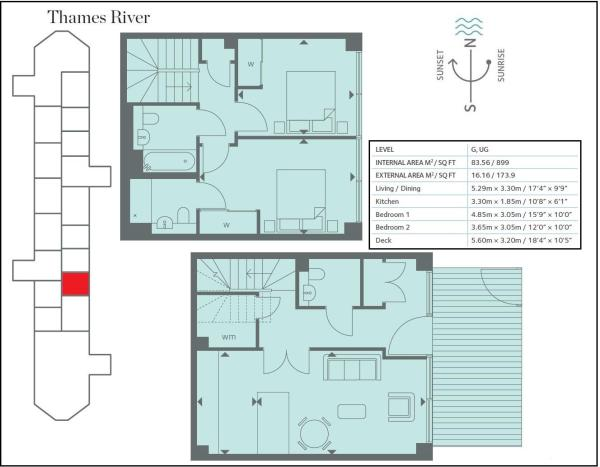 Riverlight Floorplan