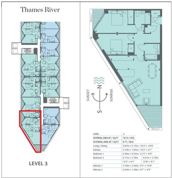 Riverlight Floorplan
