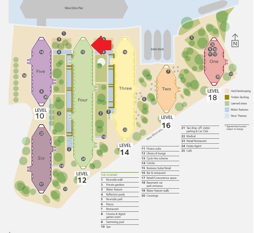 Riverlight Site Plan