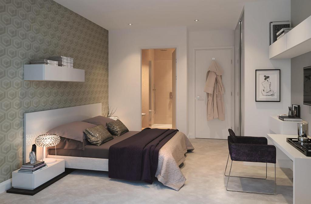 Bedroom CGI Nine Elm