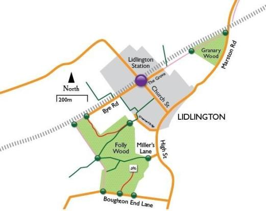 Map of Lidlington