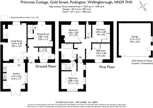 Primrose Cottage 168