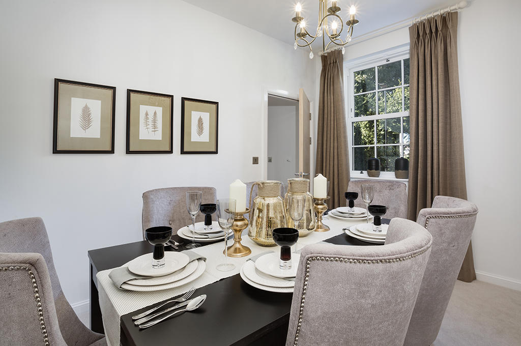Typical dining room