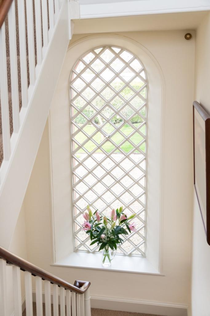 Stairs window
