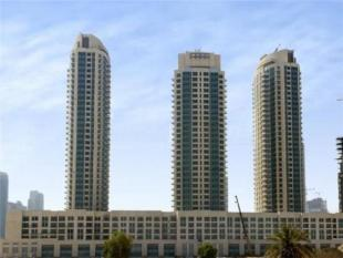 Flat in Burj Views C...