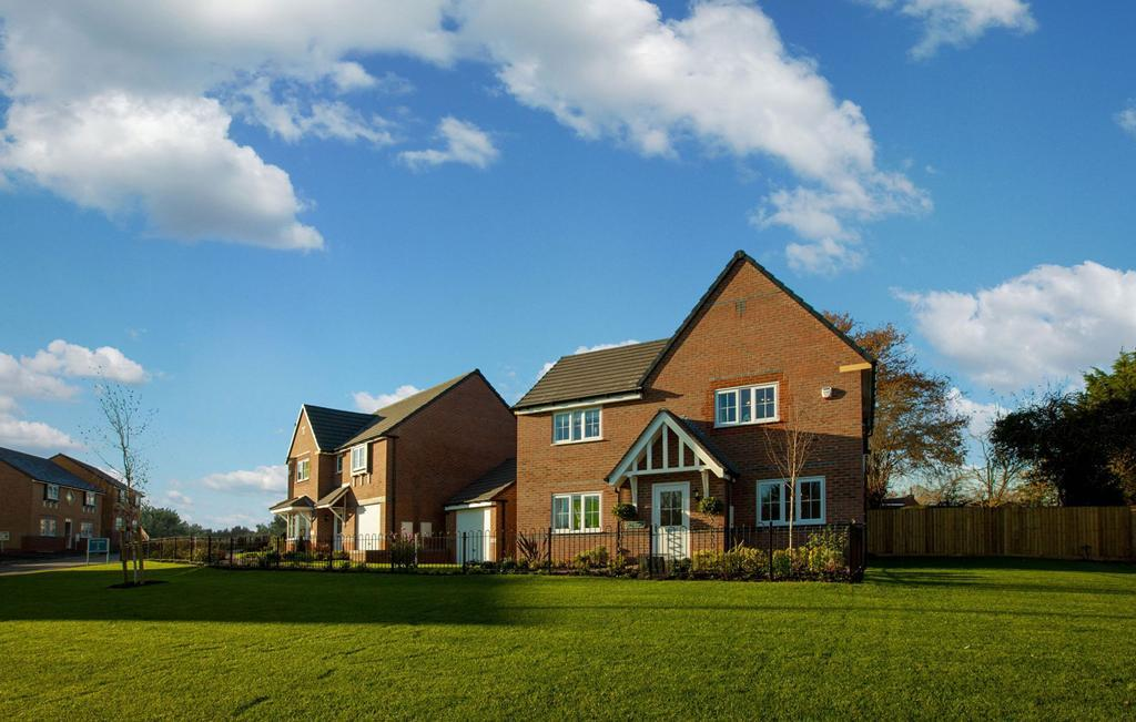 Stunning show homes available to view in Shrewsbury