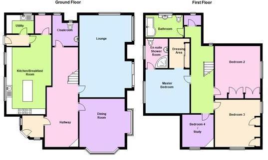 Floor Plan - 5 Dalke