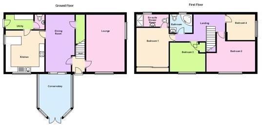 Floor Plan - 73 Nort