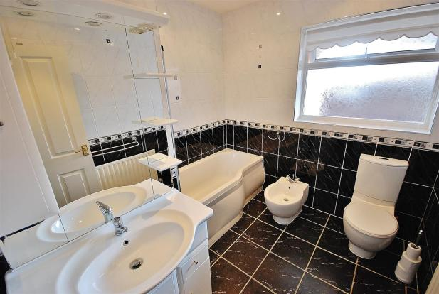 RE-FITTED BATHROOM: