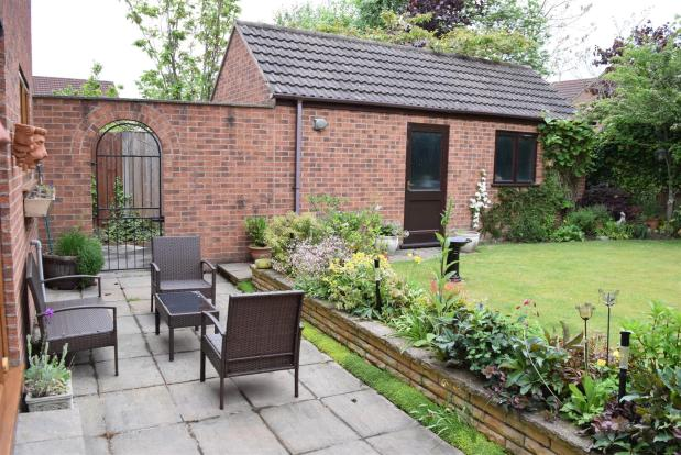 Gardens Rear (patio)