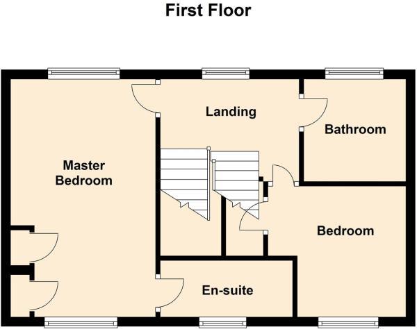 17 Haddon Close, Syston - Floor 1.JPG